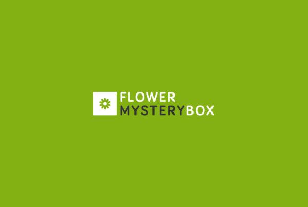 Designly - Flower Mystery Box - Logo-ontwerp en huisstijlontwikkeling