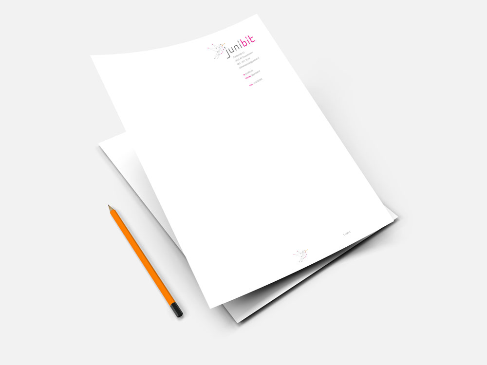 Briefpapier Junibit