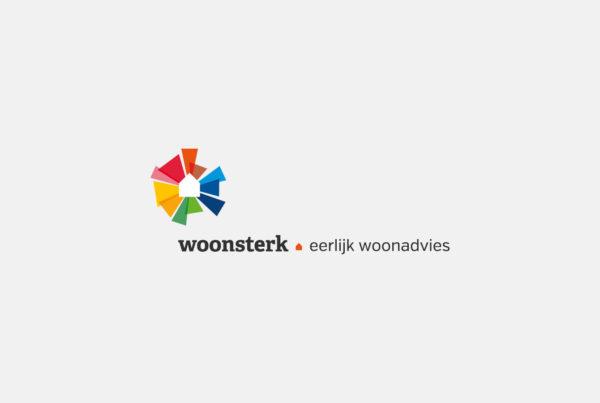Designly - Woonsterk logo- en huisstijlontwikkeling