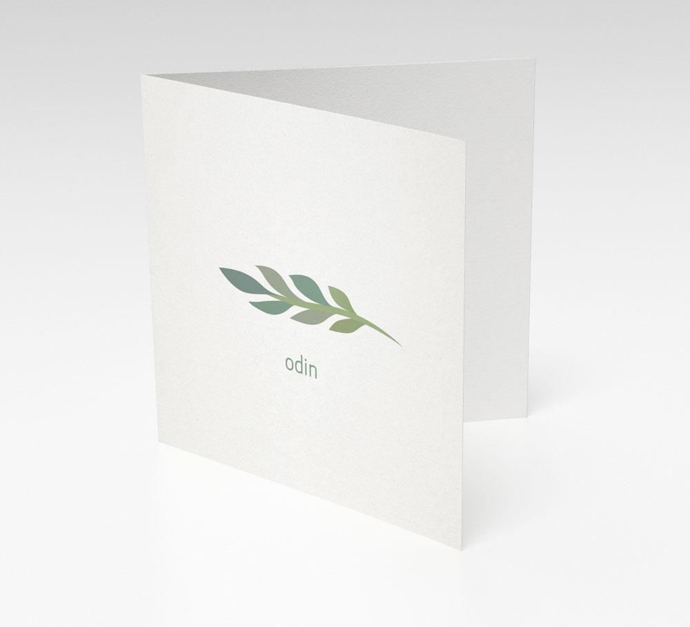Ontwerp geboortekaartje op maat - Designly