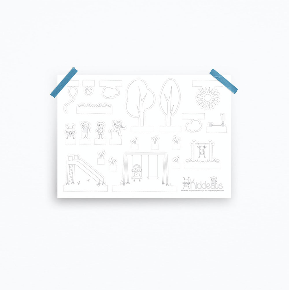 Designly - Productontwikkeling Kiddeaus - Knutselbundel