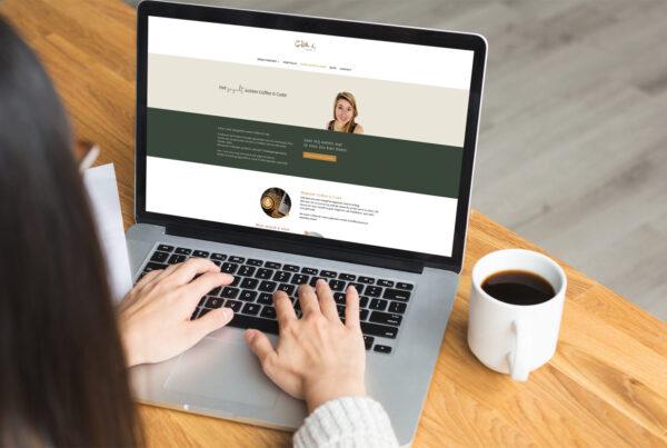 Redesign Coffee Code website