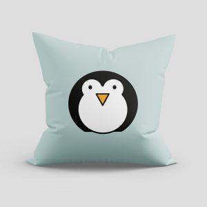 Kussen 'Pinguin' - Kinderkamer decoratie